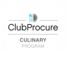 ClubProcure Culinary Program - Nationally branded manufacturer rebate program with more than 350 companies.